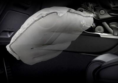 Air bag de joelho para motorista