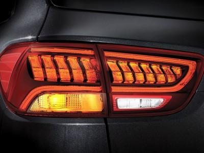 Luzes traseiras de LED